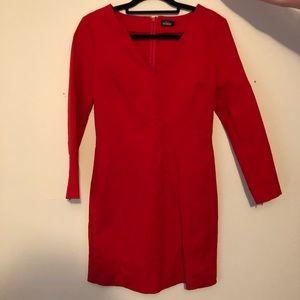 KATE SPADE SATURDAY   Red V Neck Dress